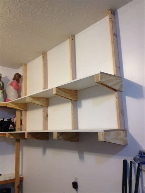 Diy Garage Wall Storage Shelves