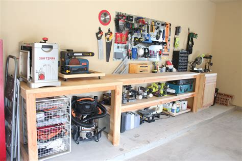Diy Garage Workshop Cabinets