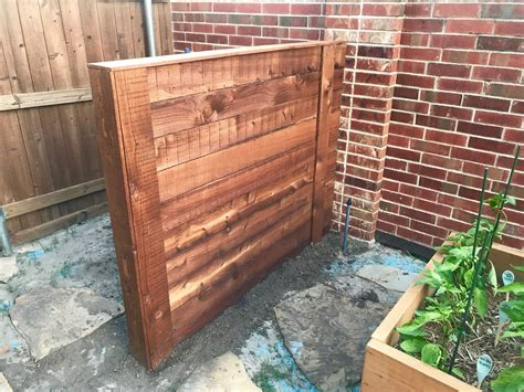 Diy Garbage Can Fence
