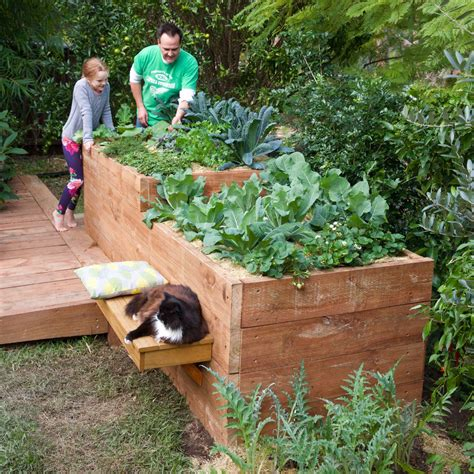 Diy Garden Bed Bunnings Team