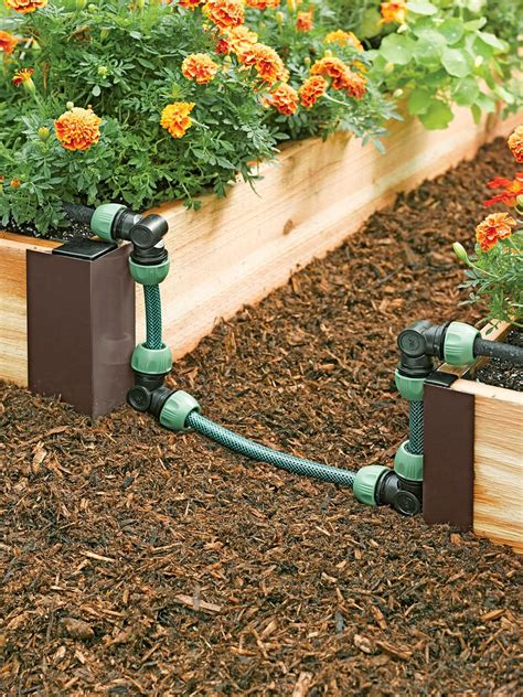 Diy Garden Bed Irrigation Kit