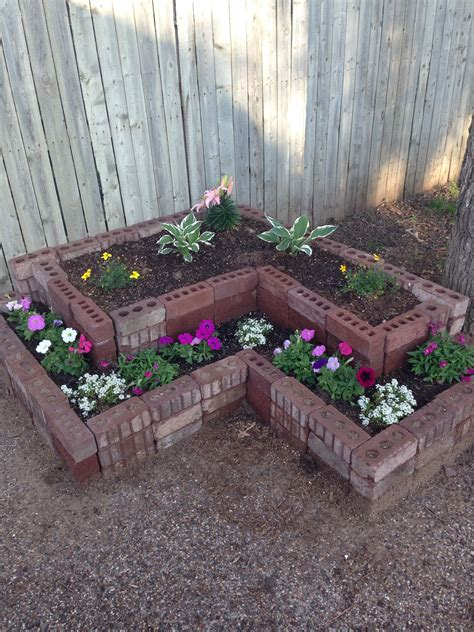 Diy Garden Bed Made From Bricks