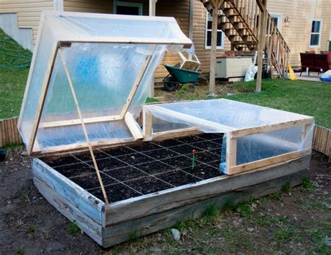 Diy Garden Hoops For Cold Frame