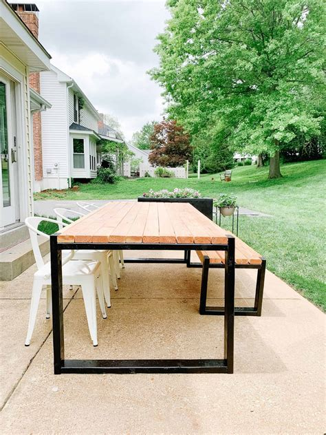 Diy Garden Patio Table