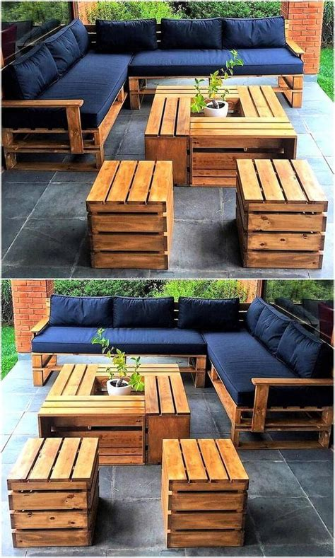 Diy Garden Projects Using Pallets