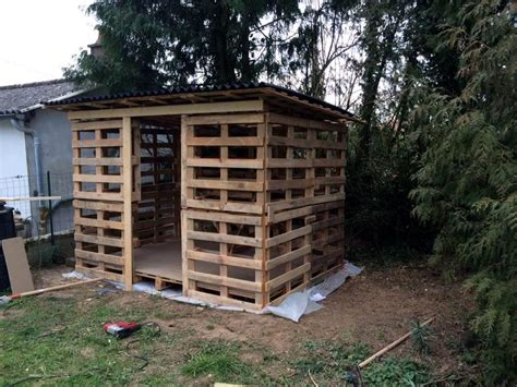 Diy Garden Shed From Pallets