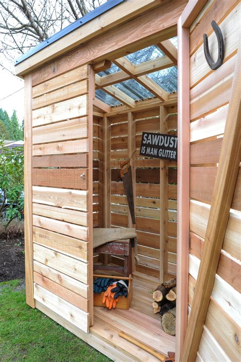 Diy Garden Tool Shed Plans