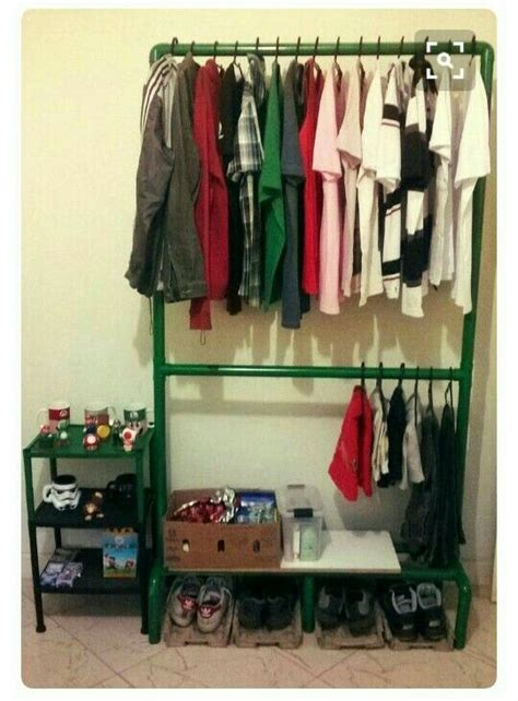 Diy Garment Rack Pvc Furniture