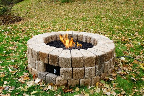 Diy Gas Fire Pit Plans