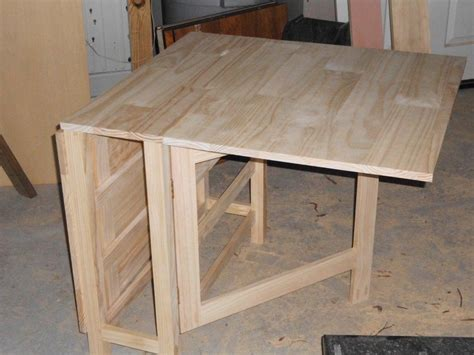 Diy Gateleg Table Plans