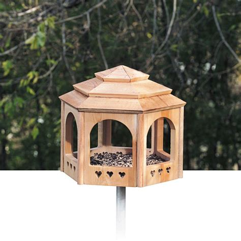 Diy Gazebo Bird Feeder