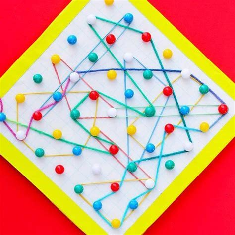 Diy Geoboard Games Activities