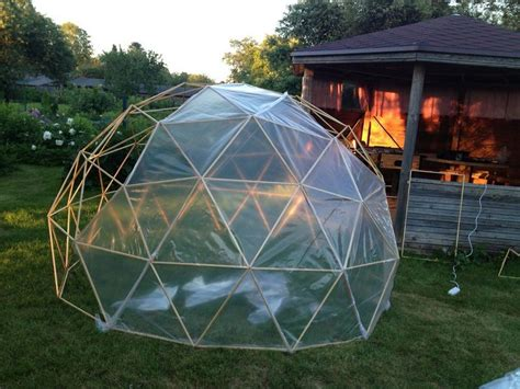 Diy Geodesic Greenhouse Dome