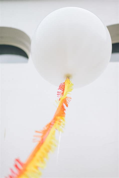 Diy Giant Balloon With Tassel