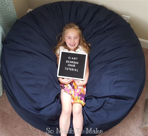 Diy Giant Bean Bag