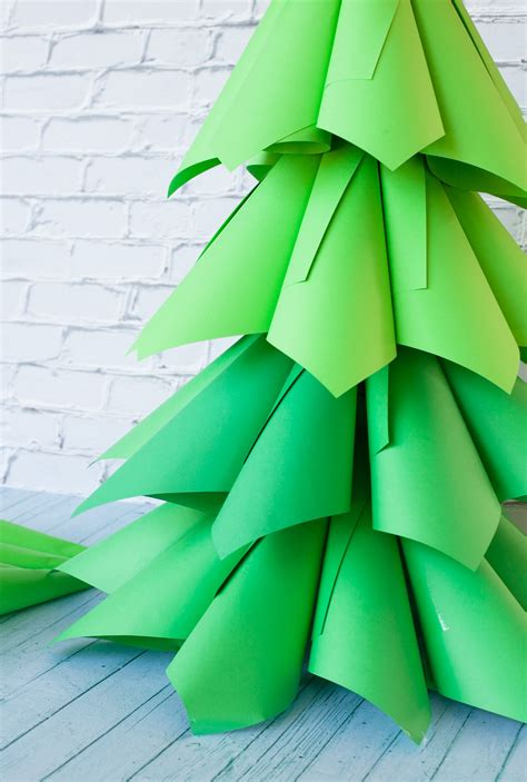 Diy Giant Paper Christmas Tree