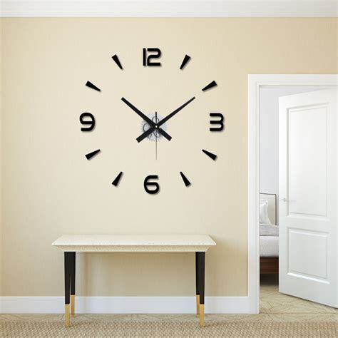 Diy Giant Wall Clock Kit
