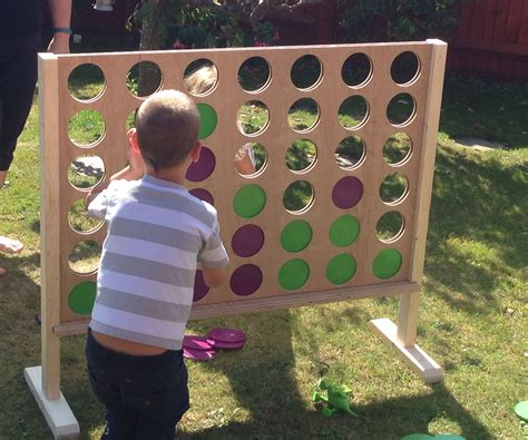Diy Giant Wood Connect Four