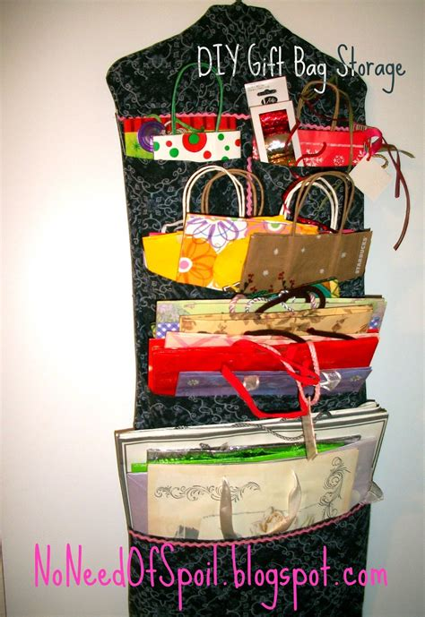Diy Gift Bag Storage