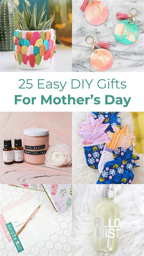 Diy Gifts For Mom Easy