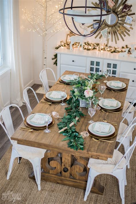 Diy Glam Dining Table