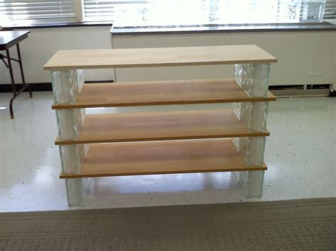 Diy Glass Block Shelves