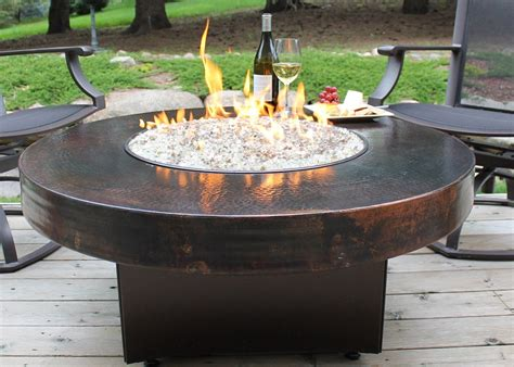 Diy Glass Flame Table
