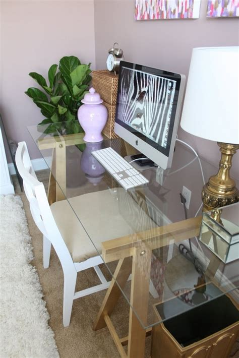 Diy Glass Office Table