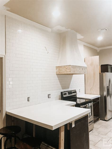 Diy Glass Subway Tile Backsplash