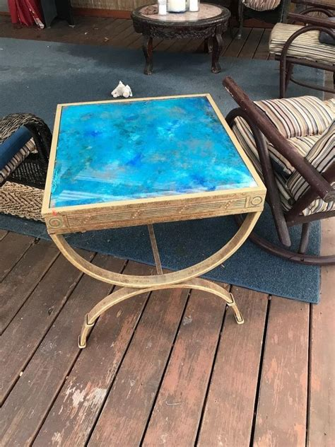 Diy Glass Table Top Makeover Ideas