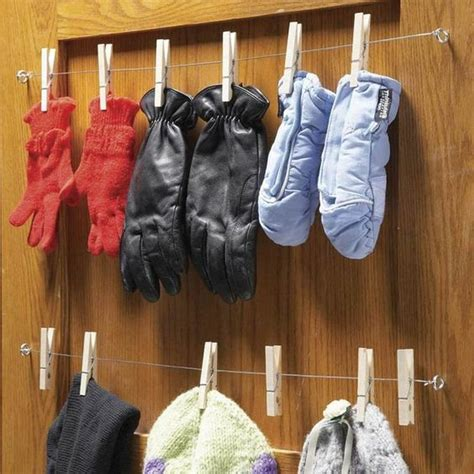 Diy Glove Rack