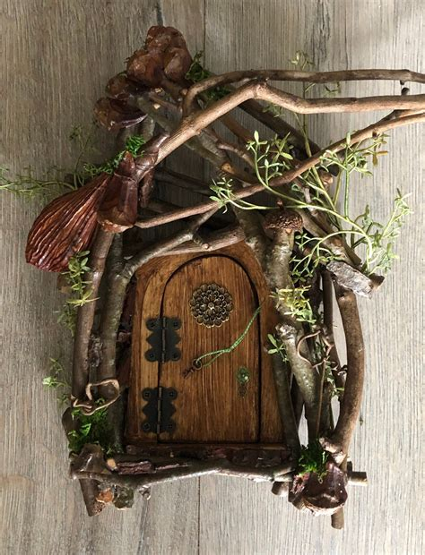 Diy Gnome Door