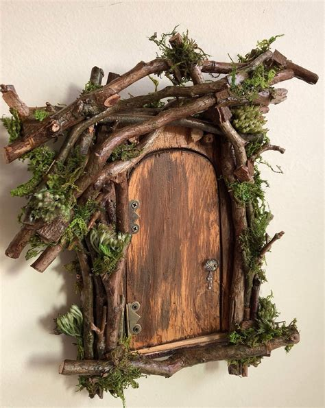 Diy Gnome Door For Tree