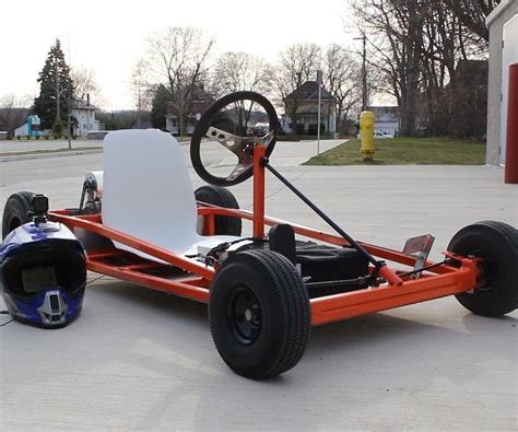 Diy Go Kart Stand With Winch