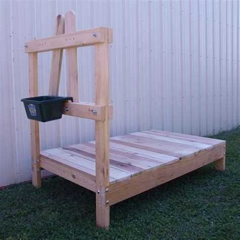 Diy Goat Grooming Stand