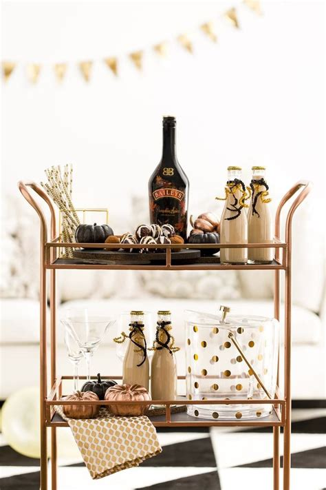 Diy Gold Bar Cart