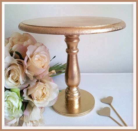 Diy Gold Dessert Stands