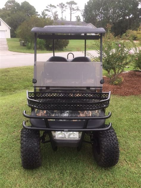 Diy Golf Cart Brush Guard