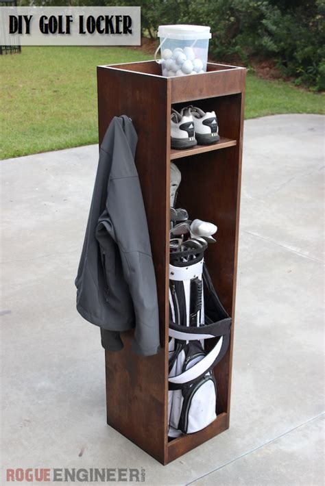 Diy Golf Club Locker