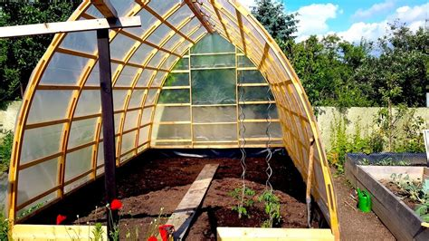 Diy Gothic Arch Greenhouse Maine