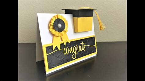 Diy Graduation Card Box Youtube
