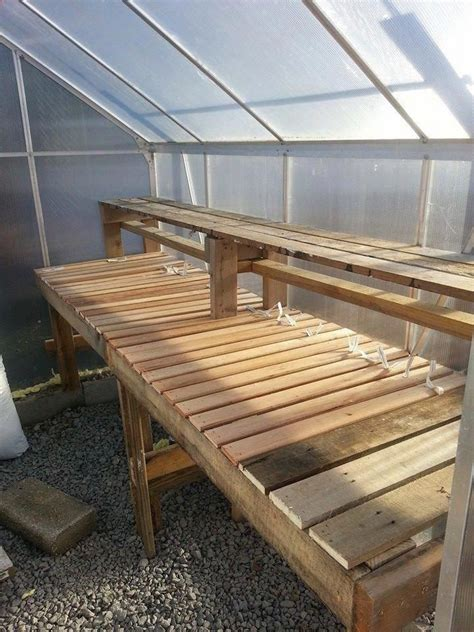 Diy Greenhouse Benches
