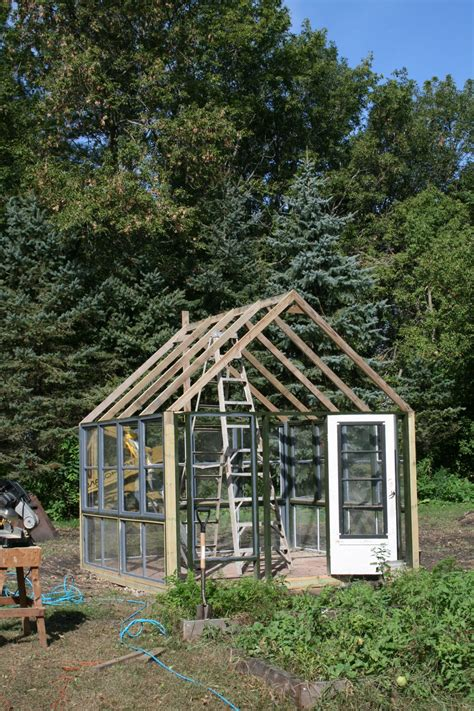 Diy Greenhouse Rafters