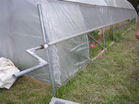 Diy Greenhouse Roll Up Sides