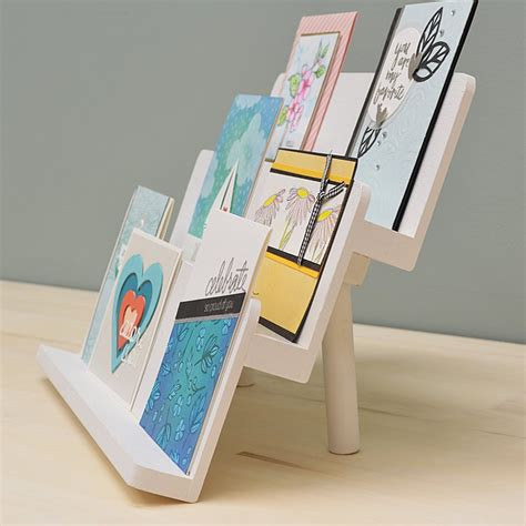 Diy Greeting Card Display Stand