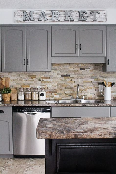 Diy Grey Kitchen Cabinets