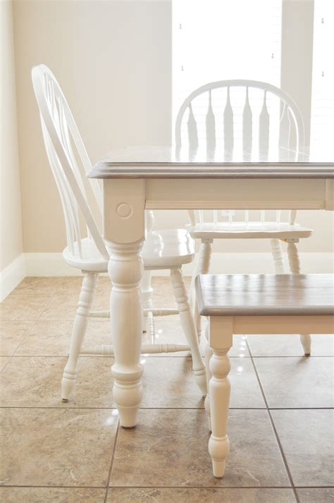 Diy Grey Wash Dining Table