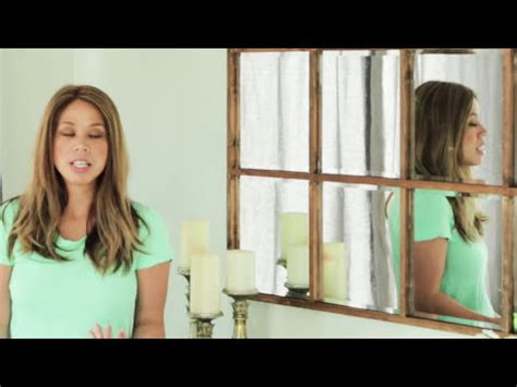 Diy Grid Tile Mirror