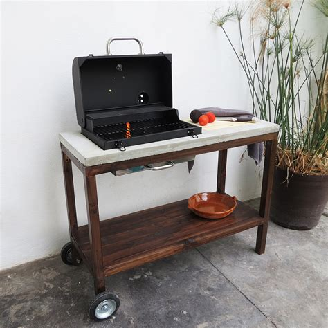 Diy Grill Cart With Roof