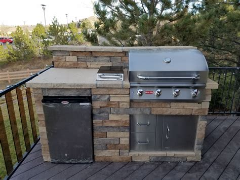 Diy Grill Island For A Deck